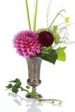 Bos van bloemen in een vaas Royalty-vrije Stock Afbeeldingen