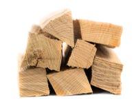 Bos van brandhout Royalty-vrije Stock Foto