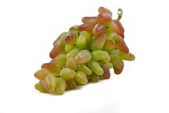 Bos van groene en rode druiven royalty-vrije stock foto