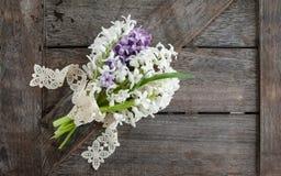 Bos van hyacinten Stock Fotografie