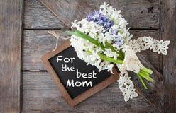 Bos van hyacinten Royalty-vrije Stock Foto's