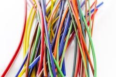 Bos van kleurrijke plastic buizen Royalty-vrije Stock Foto's