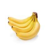 Bos van over rijpe bananen Stock Fotografie