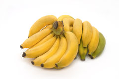 Bos van rijpe bananen Royalty-vrije Stock Afbeeldingen