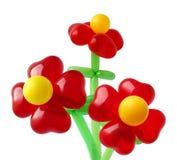Bos van rode bloemen Royalty-vrije Stock Fotografie