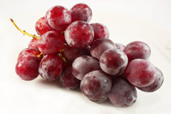 Bos van rode druiven Royalty-vrije Stock Foto