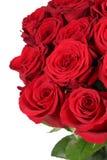 Bos van rozen op verjaardag, van Valentine of van de moeder dag Royalty-vrije Stock Afbeelding
