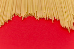 Bos van spaghetti Stock Foto's