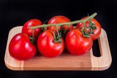 Bos van tomaten Stock Afbeelding