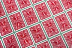 Bos van weggeknipte kaarten Royalty-vrije Stock Foto