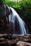 Bos waterval Royalty-vrije Stock Afbeeldingen