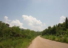 Bos weg bij Koh Mak Stock Fotografie