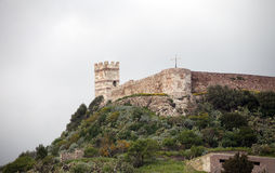 Bosa castle Stock Photos