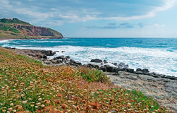 Bosa coastline Stock Image