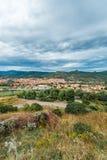 Bosa, colourful town in Sardinia, Italy. Bosa, colourful town in Oristano province, Sardinia, Italy royalty free stock image