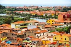 Bosa, Sardinia, Italy Stock Images
