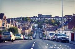 Bosatt aria i den Bristol staden Royaltyfri Fotografi