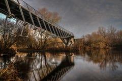 Bosatt bro 11-12-2016 Arkivbilder