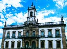 Bosatt historia i Ouro Preto (Minas Gerais - Brasilien) Royaltyfri Bild