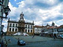 Bosatt historia i Ouro Preto (Minas Gerais - Brasilien) Fotografering för Bildbyråer