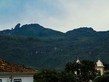 Bosatt historia i Ouro Preto (Minas Gerais - Brasilien) Royaltyfri Foto