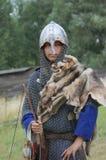Bosatt historia medeltida Arkivbild