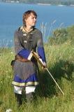 Bosatt historia medeltida Royaltyfri Foto