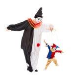 Bosatt Marionette Royaltyfria Bilder