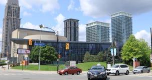 Bosatta konster centrerar i Mississauga, Ontario, Kanada 4K stock video