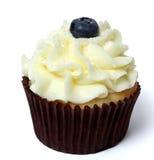 Bosbes Cupcake Royalty-vrije Stock Afbeelding
