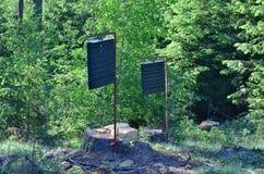 Bosbescherming, de val van de schorskever, zuidelijke Bohemen Stock Foto