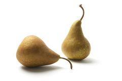 Bosc Pears Stock Photography