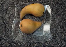 Bosc Pears. Royalty Free Stock Image