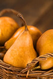 Bosc Pears Royalty Free Stock Photos