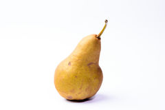 Bosc pears on white background Royalty Free Stock Image