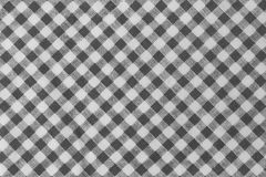Boscaiolo in bianco e nero Plaid Seamless Pattern Fotografia Stock