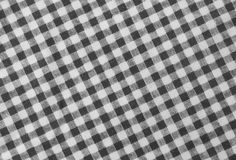Boscaiolo in bianco e nero Plaid Seamless Pattern Fotografie Stock