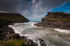 Boscastle Stock Image