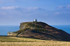 Boscastle Coastguard Tower Stock Images