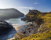 Boscastle Cornwall England UK Stock Images