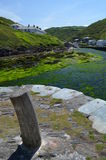 Boscastle Cornwall. Harbour at Boscastle in Cornwall, England Royalty Free Stock Image