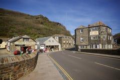 Boscastle, Cornwall, het UK royalty-vrije stock afbeelding