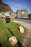 Boscastle, Cornwall, het UK royalty-vrije stock foto's
