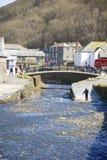 Boscastle, Cornwall, UK Stock Photos