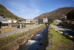 Boscastle, Cornwall, UK Royalty Free Stock Photo