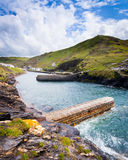 Boscastle Harbour Stock Photography