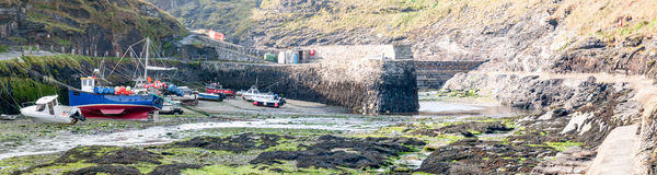 Boscastle Harbour Stock Photo