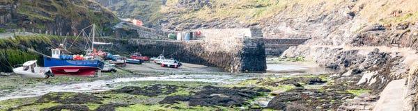 Boscastle Harbour Stock Photo