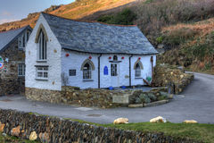 Boscastle Harbour Light Royalty Free Stock Images