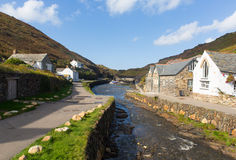Boscastle North Cornwall England UK Royalty Free Stock Photos